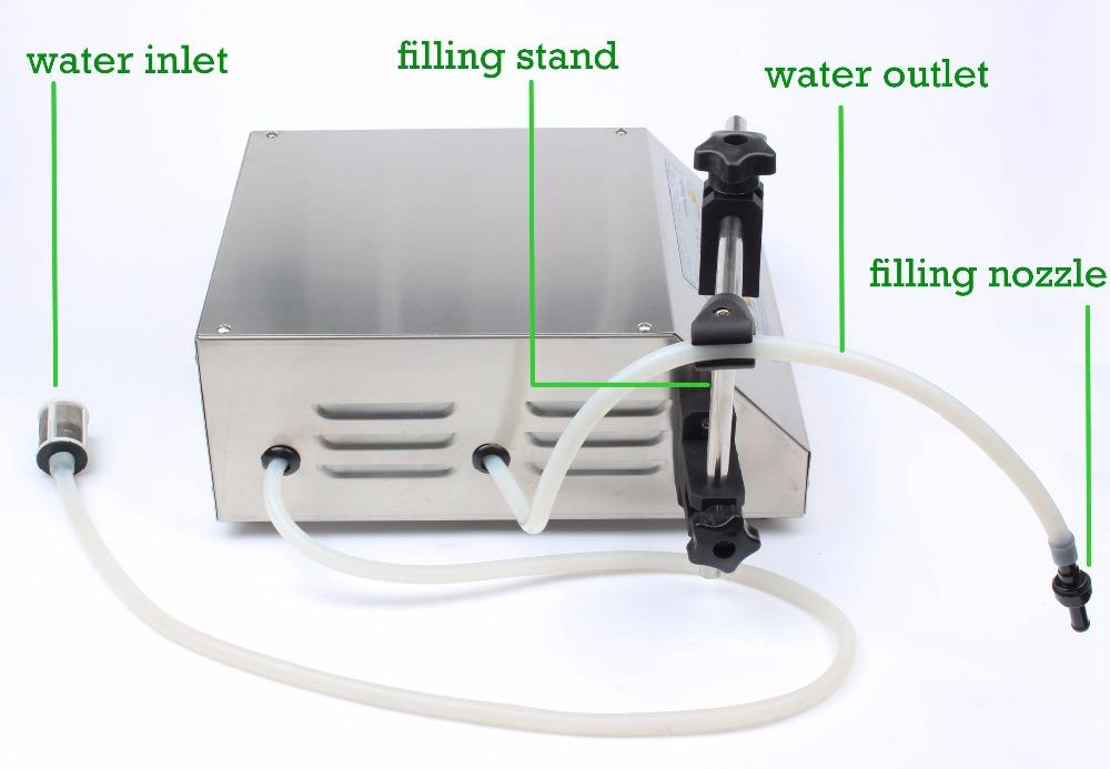 cấu tạo máy chiết rót