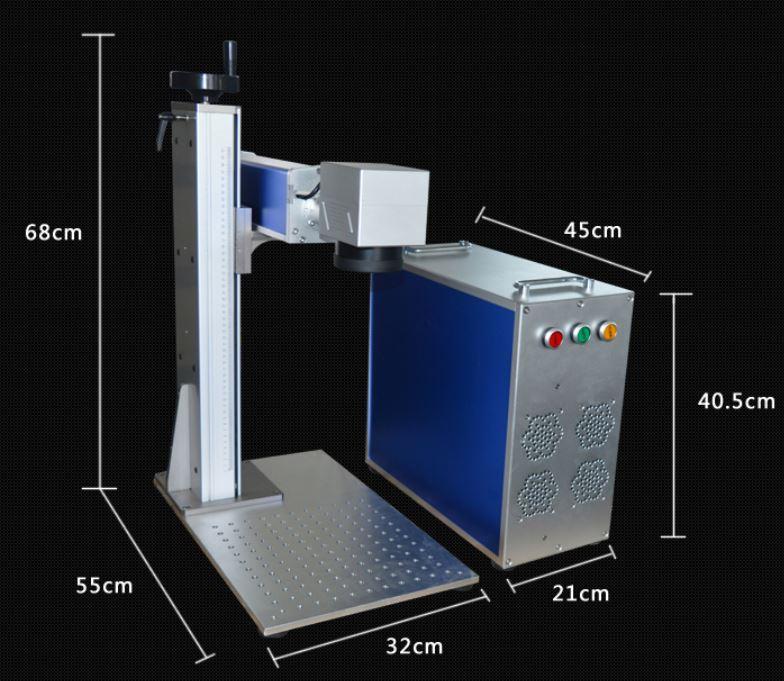 máy khắc laser fiber 10W - 20W