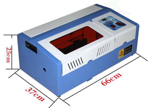 kích thước máy khắc laser co2