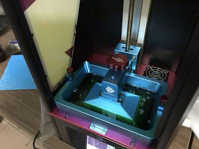in 3d bằng máy resin