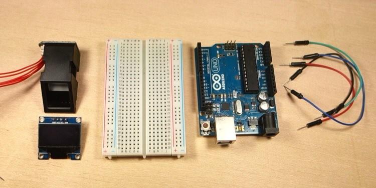 Mô-đun cảm biến vân tay với Arduino (FPM10A) | Việt Machine