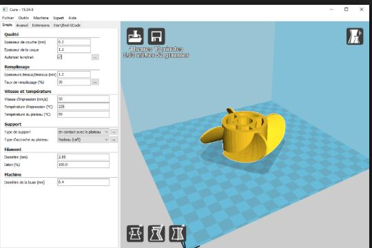 Phần mềm cura 3D