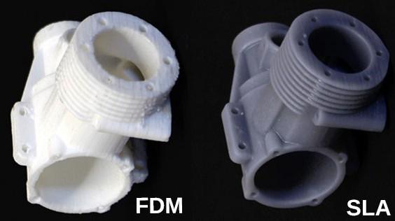 công nghệ FDM và SLA
