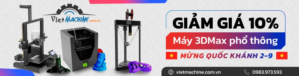 chương trinh giảm giá máy in 3D