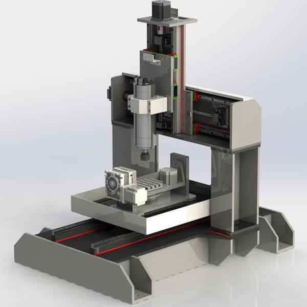 máy CNC 5 mini 5 trục